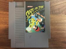 Skate or Die (1988) Nintendo NES Tested Works Free US Shipping