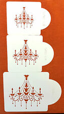 CAKE DECORATING STENCIL GREAT SIZE WEDDING CAKES AND OTHER CAKES ARTS CRAFTS S25
