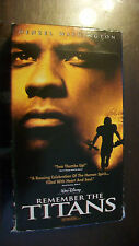 Remember the Titans (VHS, 2001)