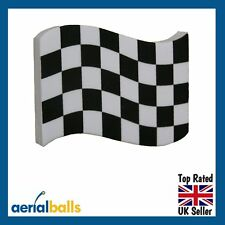 REDUCED...Grand Prix Chequered Flag Car Aerial Ball Topper