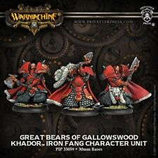 Great Bears of Gallowswood Khador Warmachine PIP33059 NEW Privateer Press