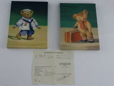 Fabrice de Villeneuve Giclee Two ( 2 )Bear Prints -  8 1/4 x 11 3/8 inches each