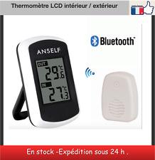 Thermomètre LCD intérieur extérieur récepteur bluetooth  station météo
