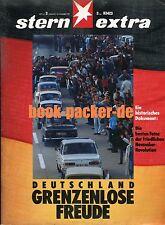 STERN EXTRA (16. November 1989): DEUTSCHLAND - GRENZENLOSE FREUDE