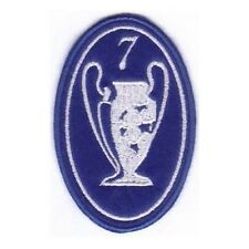 [Patch] CHAMPIONS LEAGUE numero 7 replica cm 5 x 7,5 toppa ricamata ricamo -211