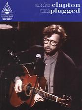 Eric Clapton Unplugged libro de música grabada versiones ficha de guitarra y estándar notas