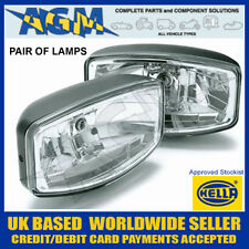 PAIR OF HELLA JUMBO 320 FF DRIVING LAMP WITH CLEAR LENS WITH POSITION LIGHT