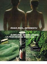 PUBLICITE ADVERTISING 064  1981  REXONA   déodorant pour homme