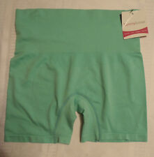 Tummylicious Size L/XL Green Shaping Nylon Shortie Panty Shaper Smooth Slim NWT