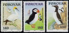 FAROE ISLANDS 1978 Birds 3v vset MNH @M238