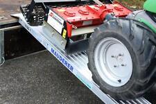 2x Rampe de chargement: 2 m, 800 kg/paire, Alu rampes, Rails de chargement