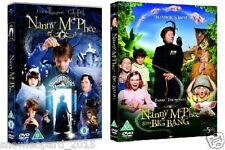 NANNY MCPHEE + BIG BANG 2 MOVIE FILM COLLECTION DVD PART 1 + 2 Brand New UK