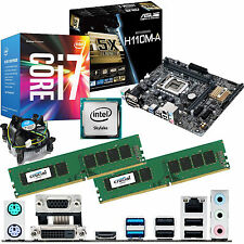 INTEL Core i7 6700 3.4Ghz & ASUS H110M-A & 16GB DDR4 2133 CRUCIAL bundle