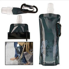Flexible Collapsible Foldable Reusable Water Bottles Ice Bag Outdoor Sport Gift