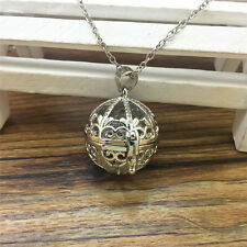 Hot Perfume Fragrance Essential Oil Aromatherapy Diffuser Locket Necklace WT55