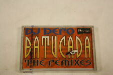 Batucada Dj dero The remixes(Audio Cassette Sealed)