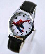 New Spiderman Child Boy Girl Wrist Watch