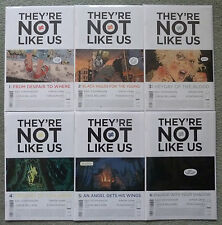 THEY'RE NOT LIKE US #1-6 SET..ERIC STEPHENSON..SIMON GANE..IMAGE 1ST PRINT..NM