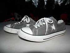 2000's Grey One-Star Low Canvas Coverse Women's 9.5 FREE SHIPPING (used)