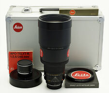 Leica R Apo Telyt 2.8/280 mm #3351462 ROM + Filter + Apo Extender + Box
