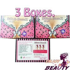 x3 BIKINII BOOMZ BIGGER BREAST NURTURE HEALTH WOMEN WHITENING BRIGHTENING SKIN
