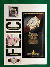 OG92 Pubblicità Advertising Werbung Clipping - LUCIEN ROCHAT OROLOGI WATCH
