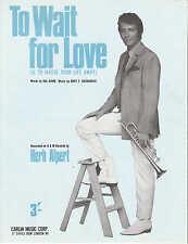 Di attesa per amore-HERB ALPERT - 1967 SPARTITI MUSICALI