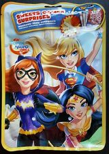 10 SUPER HERO GIRLS Batgirl supergirl wonderwoman kids party bag fillers lot