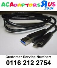 Genuine Black Seagate USB3.0 USB 3.0 Cable Lead Part Number PN:100692778