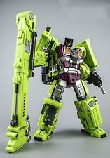 Generation Toy Transformers GT-01F Gravity Builder Devastator Crane New