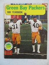 GREEN BAY PACKERS 1981 YEARBOOK Volume 22