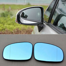 2pcs Power Heated w/Turn Signal Side View Mirror Blue Glasses For Toyota Prius