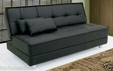 Gaiety Soft Sofa cum Bed - Leatherette by Furny