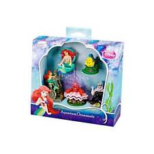 Penn Plax Little Mermaid 5 Piece Resin Gift Pack Fish Aquarium Ornaments LMR1A