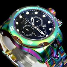 Invicta Reserve Venom Iridescent Steel Chronograph Swiss Movt 52mm Watch New