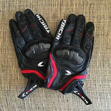 "US_Seller: Armed LEATHER MESH Motorcycle Bike RACING GLOVES ""TAICHI"" Size: XL"