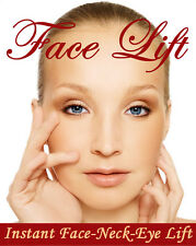 INSTANT FACE, NECK & EYE LIFT; FACELIFT TAPES AND BANDS! SHIPS TODAY!! (Fulford)