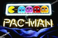 Pac-Man Ghost Video Game Arcade Pub Store Display Real Neon Light Sign FREE SHIP
