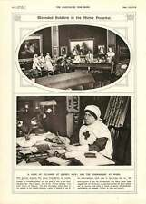 1916 Queen's Gate Hospital Commandant Isaacs Comedie Francaise Performance