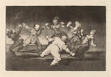 Goya Prints: Los Disparates (Follies): No.12 - Merry Folly: Fine Art Print