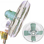 Standard 24in Industrial Wall Fan For Sale (WHOLESALE)