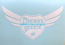 Diesel Girl Decal Truck Fuel Tractor Smoke Car ATV Tool Box Safe Window Sticker