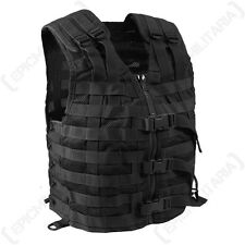 Armée Noir Tactique Molle Assaut transporteur Combat Airsoft Gilet attachement rig top