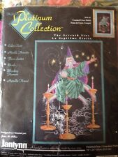 The Seventh Star Janlynn Platinum Collection Counted X stitch Kit, sealed #44-41