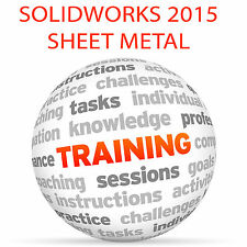 SOLIDWORKS 2015 Sheet Metal - Video Training Tutorial DVD
