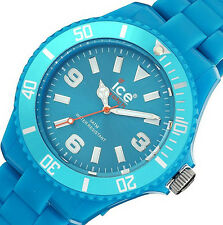 New Ice-Watch Womens Classic Fluo Blue Watch CF.BE.B.P10 BOX IMPERFECTIONS