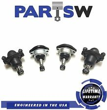 4 Pc Set Front Upper And Lower Ball Joints Blazer S10 Jimmy Sonoma Bravada 4WD
