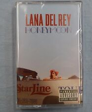 LANA DEL REY Honeymoon CASSETTE TAPE Exclusive Clear Cassette BRAND NEW