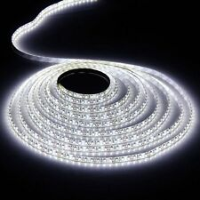 5M White Non-Waterproof 300 LED Strip Light 3528 SMD String Ribbon Tape Roll 12V