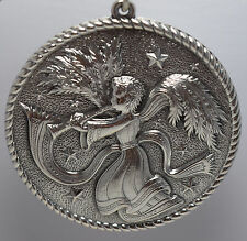 Buccellati Italy 2004 All Sterling Annual Ornament - Herald Angel